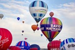 布里斯托尔气球节日2015英国 免版税库存照片