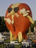布里斯托尔气球节日 库存图片
