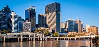布里斯班地平线,澳大利亚 免版税库存照片