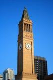 布里斯班市政厅 免版税库存照片