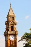 布里斯班时钟大厅城镇 免版税库存照片