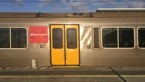 布里斯班机场Airtrain布里斯班昆士兰澳大利亚 影视素材