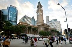 布里斯班香港大会堂-昆士兰澳大利亚 库存图片