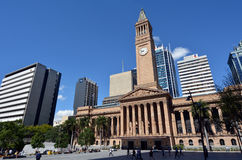 布里斯班香港大会堂-昆士兰澳大利亚 免版税库存图片