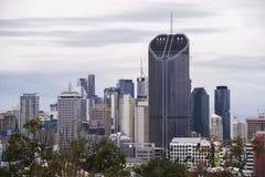布里斯班,澳大利亚-星期六2017年10月14日, :日间布里斯班市在星期六看法2017年10月14日 库存图片