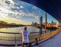 布里斯班,澳洲 免版税库存照片