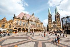 布里曼市在德国 免版税图库摄影