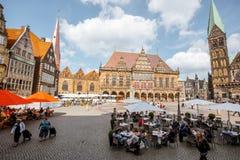 布里曼市在德国 免版税库存图片