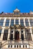 布里曼德国市政厅 库存图片