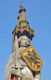 布里曼德国roland雕象 库存照片