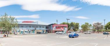 布隆方丹旅游中心的全景 免版税图库摄影