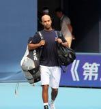 布雷克・詹姆斯球员网球美国 免版税库存照片