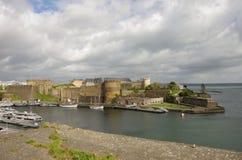 布雷斯特城堡 免版税库存照片