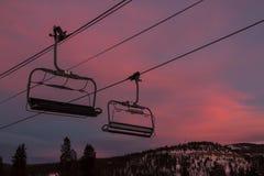 布雷肯里奇滑雪胜地 免版税库存图片