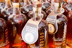 布雷肯里奇Burbon威士忌酒 库存图片