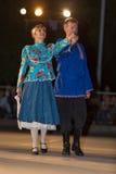 布雷西亚,意大利2016年5月28日, 民间舞,俄国舞蹈,小组第14个节日  库存照片