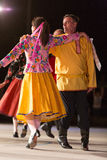 布雷西亚,意大利2016年5月28日, 民间舞,俄国舞蹈,小组第14个节日  免版税库存图片