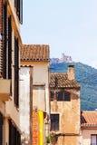 布雷达和Montsoriu Castel议院  库存照片