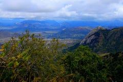 津巴布韦的东部丘陵地带 库存照片
