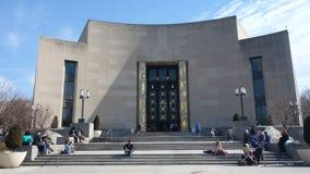 布鲁克林公立图书馆 免版税库存图片