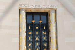 布鲁克林图书馆公共 图库摄影