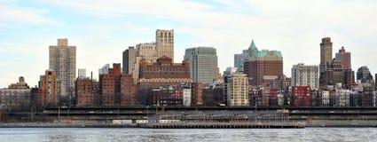 布鲁克林地平线 图库摄影