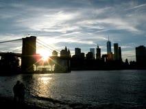 布鲁克林大桥公园 免版税库存照片