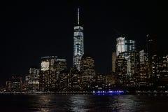 布鲁克林大桥纽约曼哈顿哈得逊河 库存照片
