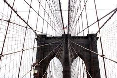 布鲁克林大桥,纽约,美国09 2017年 免版税库存照片