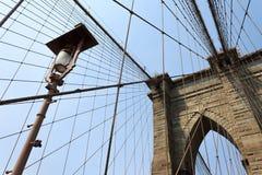 布鲁克林大桥,纽约,美国 库存图片