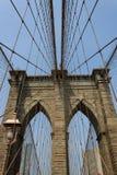 布鲁克林大桥,纽约,美国 库存照片