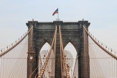布鲁克林大桥,纽约,美国 免版税库存图片