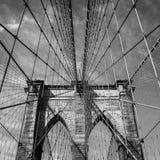 布鲁克林大桥,纽约 库存照片