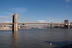 布鲁克林大桥 库存图片