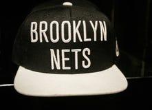 布鲁克林捕网帽子 免版税库存图片
