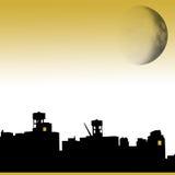 布鲁克林月亮 免版税库存照片