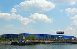 布鲁克林的宜家大型商场 库存照片