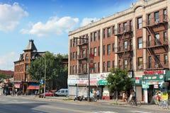布鲁克林街 库存照片