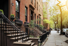 布鲁克林Heights 免版税库存照片