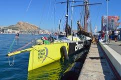 布鲁内尔富豪集团海洋赛跑的游艇 免版税库存图片