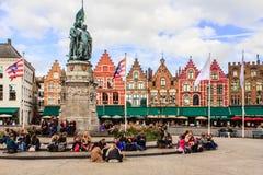布鲁基,布鲁日,比利时 免版税库存照片