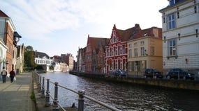 布鲁基,比利时,城市的图片 库存照片