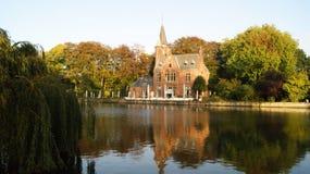 布鲁基,比利时,城市的图片 免版税库存照片