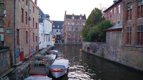 布鲁基,比利时,城市的图片 库存图片