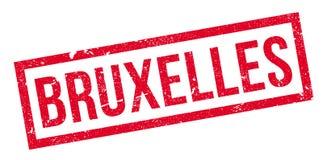 布鲁塞尔不加考虑表赞同的人 免版税库存图片
