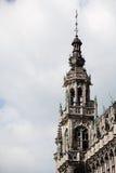 布鲁塞尔全部房子国王位置 免版税库存图片