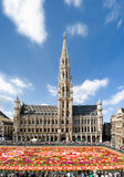布鲁塞尔全部正方形 免版税图库摄影