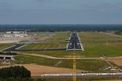 布鲁塞尔国家机场 免版税库存图片