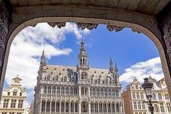 布鲁塞尔在比利时 免版税图库摄影