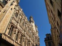 布鲁塞尔城镇厅 免版税库存图片